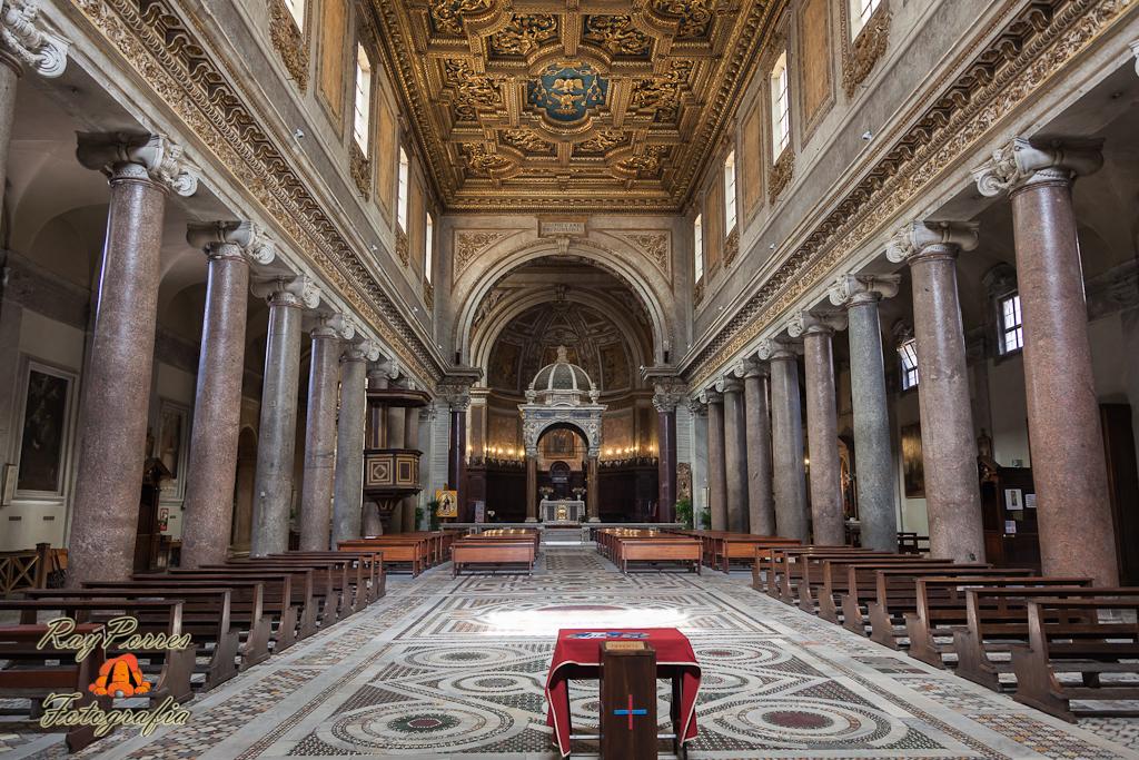 Basilica de San Crisogono, Roma, Italia