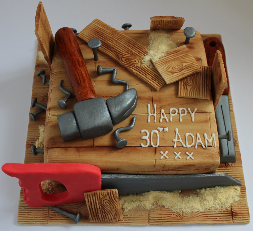 Carpentry themed cake | Pauls Creative Cakes | Flickr