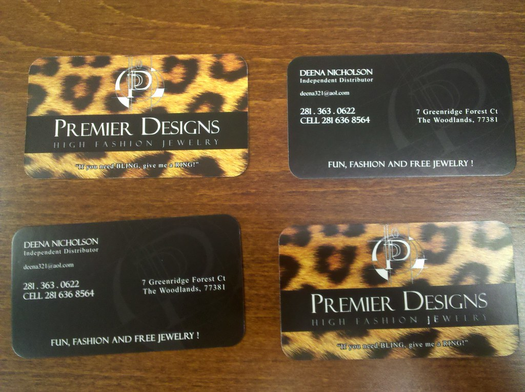 Business Cards - Premier Designs | Custom Spot UV business c… | Flickr