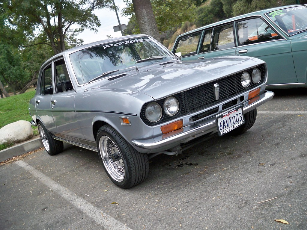 mazda rx2 sedan | r-power's 6th annual bbq full of food and … | flickr