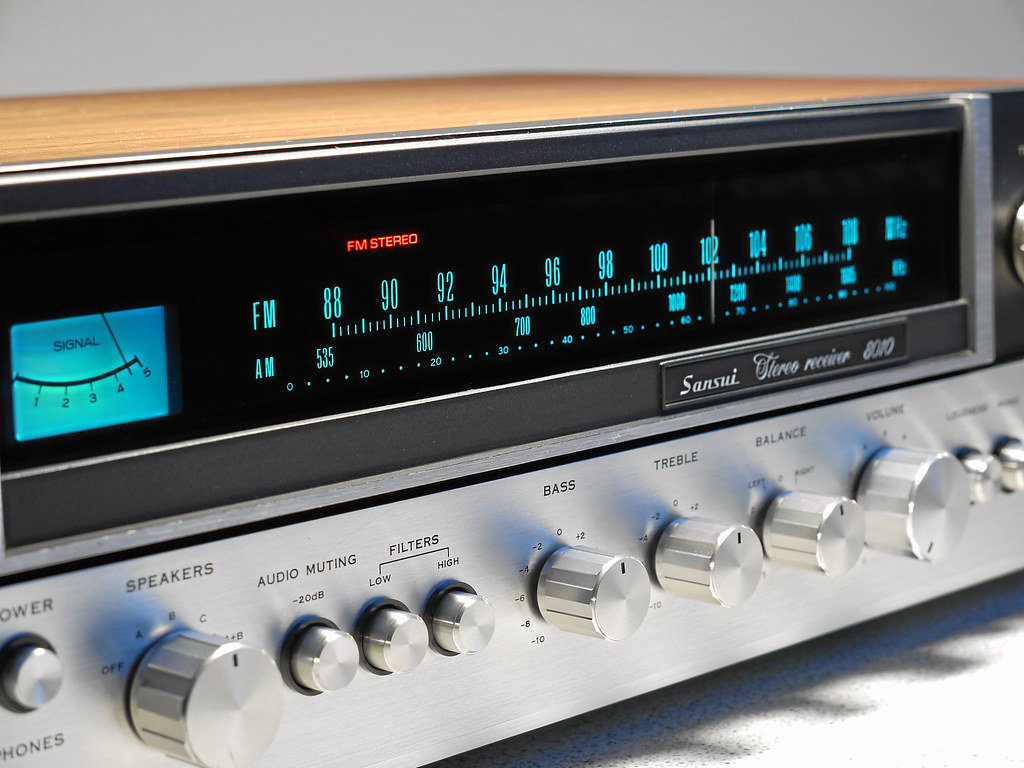 sansui 8010 stereo receiver 1974 rare black european versi flickr. Black Bedroom Furniture Sets. Home Design Ideas