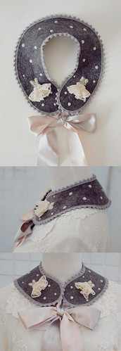 mini dress collar | by tinytoadstool by shan shan