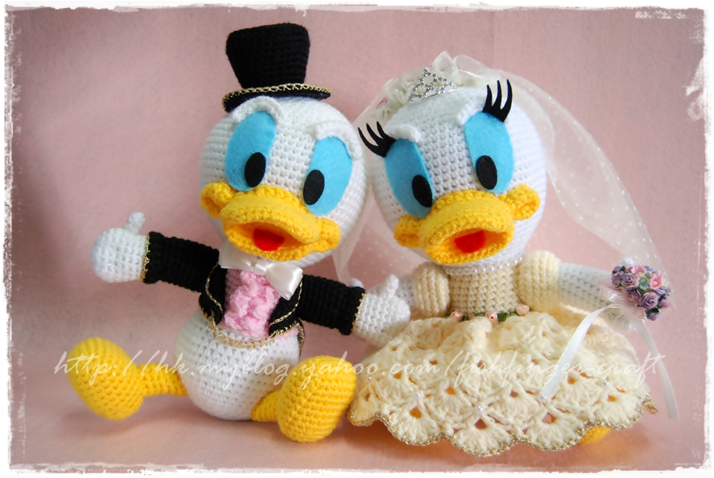 Donald Duck ??????_01 Fish Finger Craft Flickr