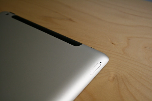 ipad 2   sim card slot much the same as the iphone you