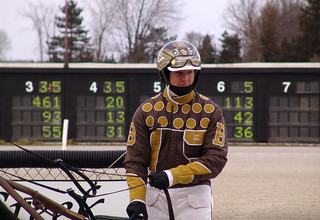 40 - race 4 - Cousin Nate w/ Tyler Buter in the winner's circle | by CMCoolidge