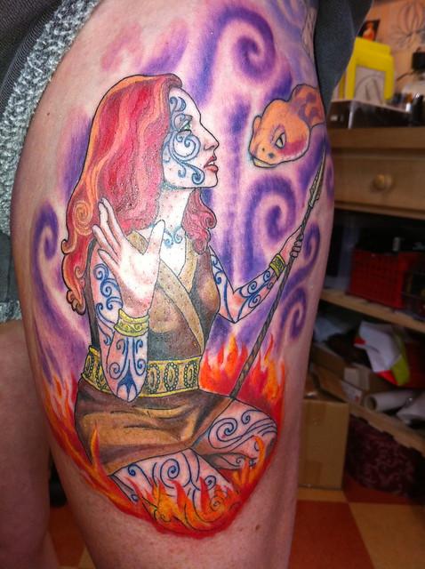 Celtic warrior goddess flickr photo sharing for Celtic tattoo artists portland oregon