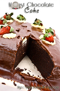 Moist Chocolate Cake | by Lonia | The Sweet Tooth Fairy