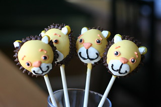 Lion Cake Pops | by Sweet Lauren Cakes