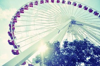 Navy Pier Ferris Wheel | by Relocated City Girl