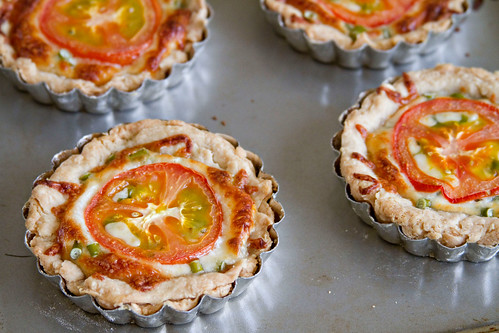 Garlic Scape and Tomato Tartlets - 5 | by Sugarcrafter