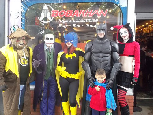 Batman Day Food Drive Event, BobaKhan Toy Store | by BOBAKHAN Toys & Collectibles
