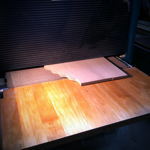 sanding | by Bradford Woodworking