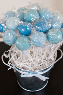 """Under the Sea"" cake pops 