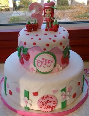 Toy Small Strawberry Cake