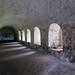 Inside Inchcolm Abbey, Scotland