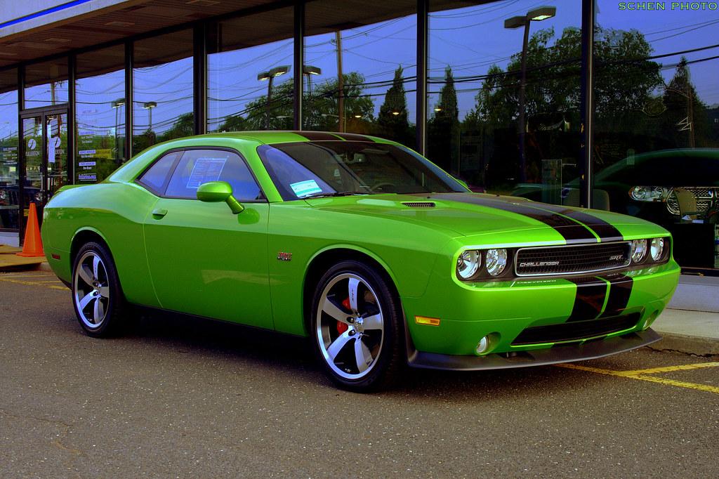 Dodge Challenger Srt8 392 In Green With Envy Flickr