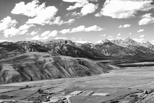 B&W over Snake River Valley Small | by McDade Photography