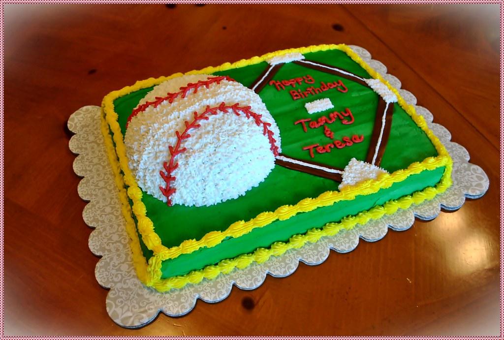 Cake Decorations Baseball