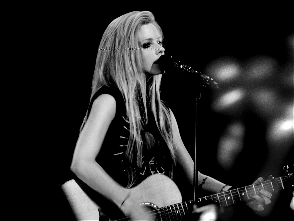 Avril Lavigne - The Black Star Tour (SP/Brasil) 28.07.11 | Flickr