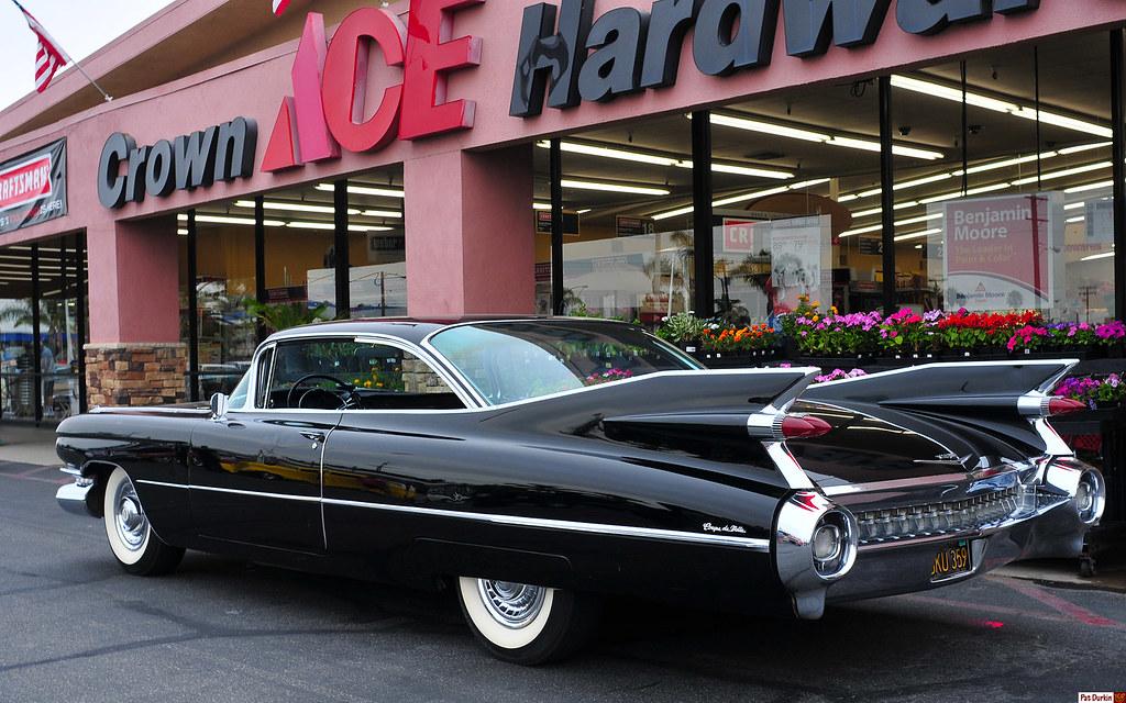 1959 Cadillac Coupe DeVille - black - original - rvl | Flickr
