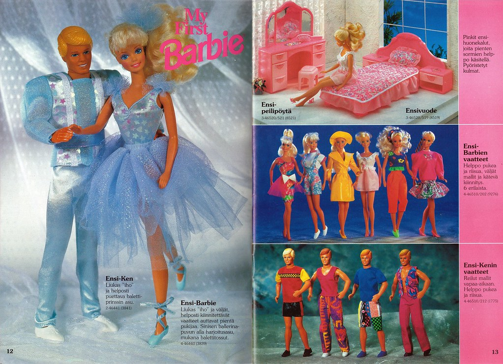 Barbie Doll Clothes From The  S