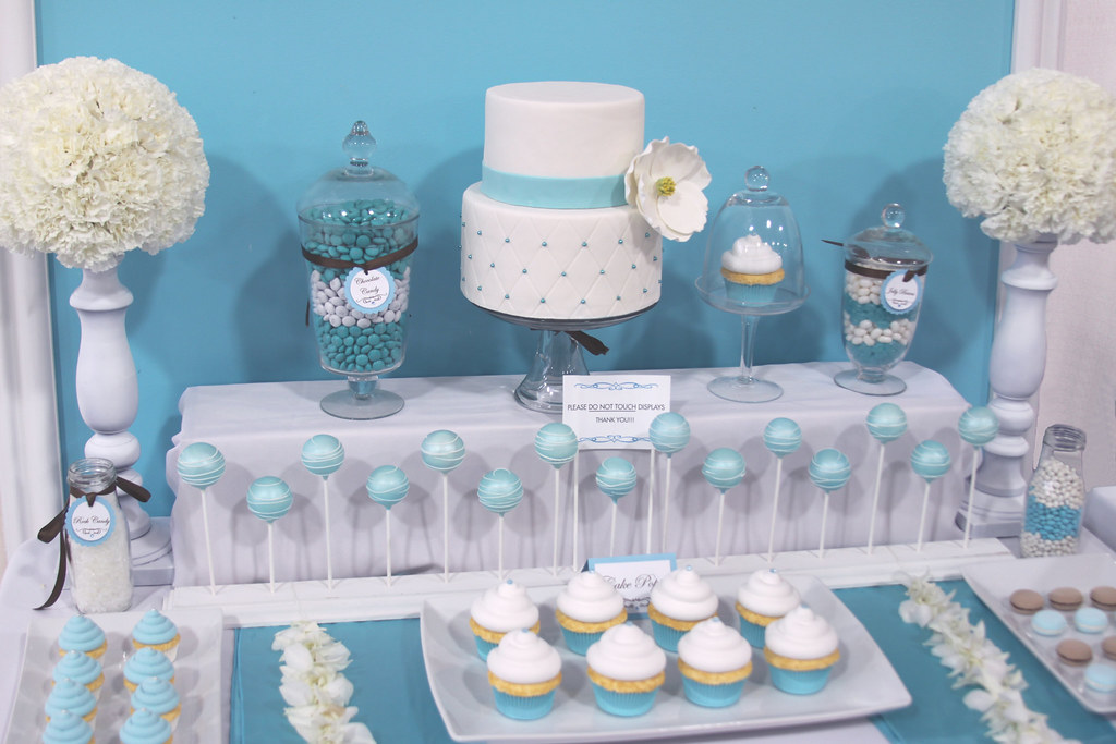Dt Display Whole Dessert Table I Made For A Bridal Expo