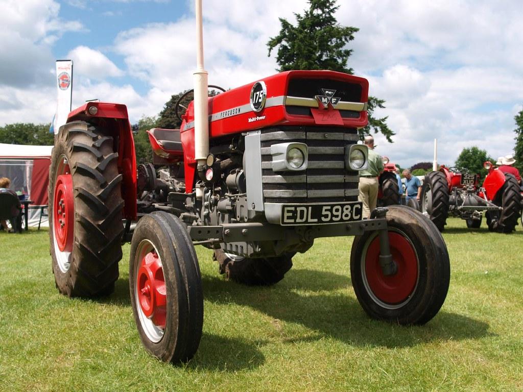 Massey 175 Diesel : Massey ferguson multi power farm tractors flickr