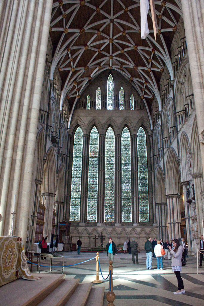 """York Minster, north transept 