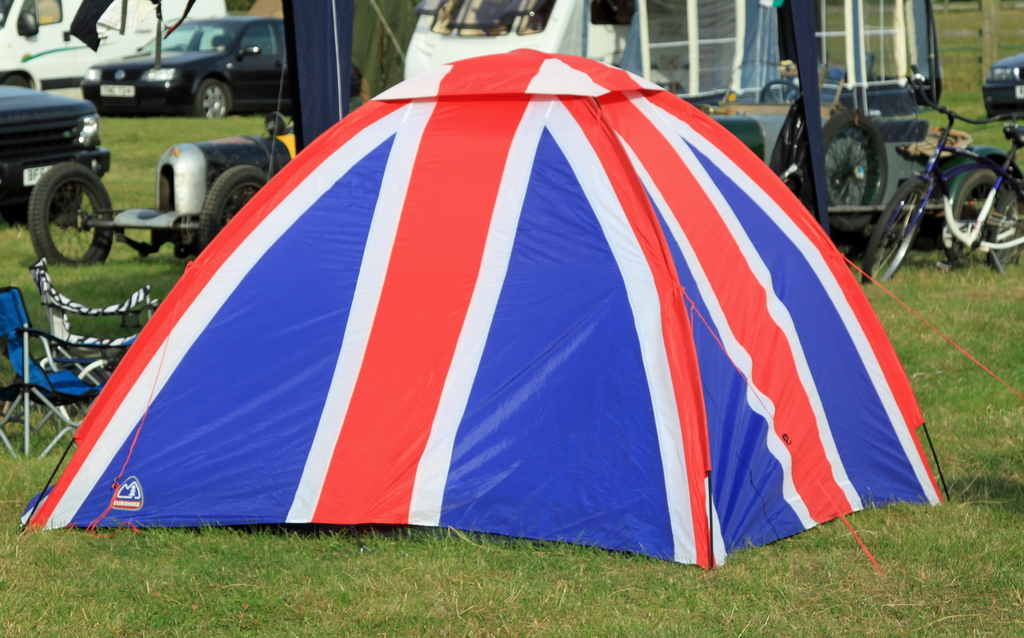 ... 217/365 - 05 August 2011 - Union Jack Tent | by Rally Pix & 217/365 - 05 August 2011 - Union Jack Tent | 217/365 - 05 Auu2026 | Flickr