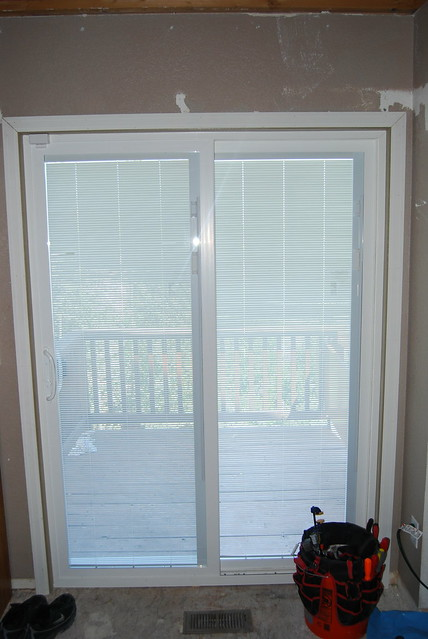 new sliding doors with built in blinds flickr photo sharing