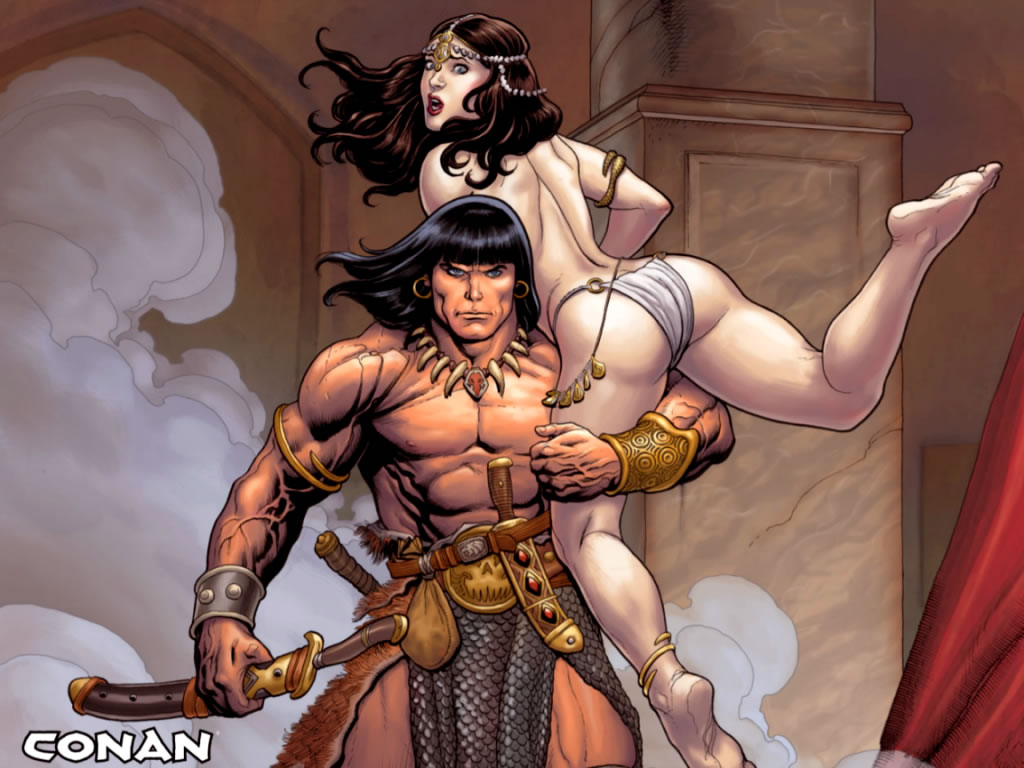 the with Conan women barbarian