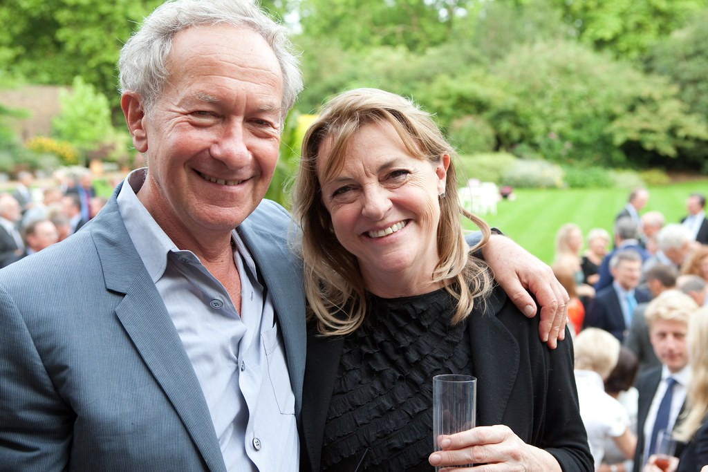 Simon Schama And Jan Dalley Financial Times Flickr