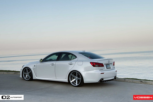Vossen CV3 Lexus IS-F : 877-361-0296 | Vossen CV3 Machined ...