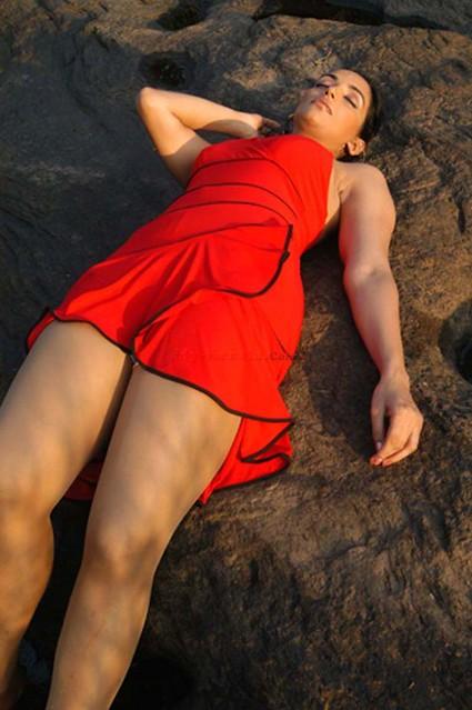 Actress Swetha Menon Hot Sexy Thigh Show  Flickr - Photo -2776