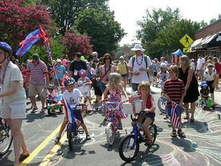 Carrboro's July 4 parade | by moonlightbulb