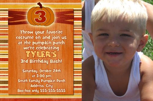 3rd birthday party invitation message