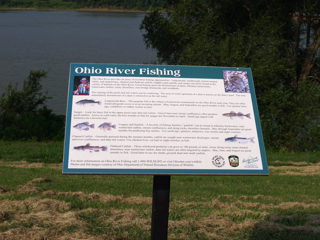 Ohio river fishing a sign about ohio river fishing for Ohio river fish