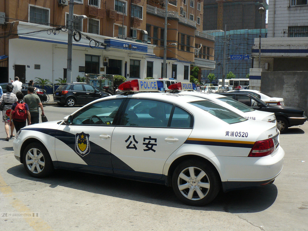 Shanghai Police Cars For My Friend Cmcharlesmillar Who