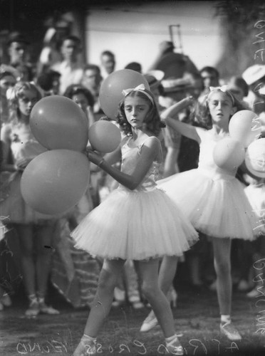Ballerinas dancing at the Red Cross Fund, Brisbane, 1942 | by State Library of Queensland, Australia