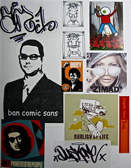 zimad sticker black book | zimad | Flickr