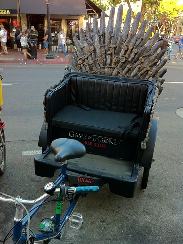 The Iron Throne Pedicab | by danwall88