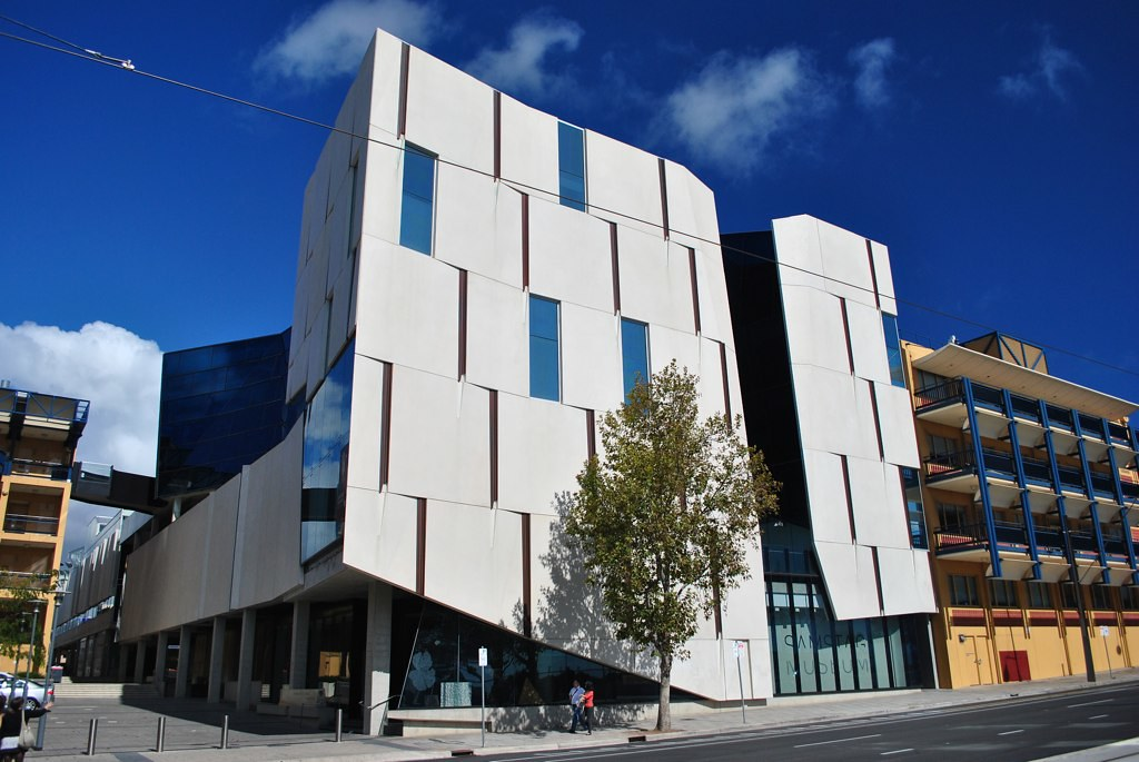 Hawke building university of south australia in for Architecture jobs adelaide