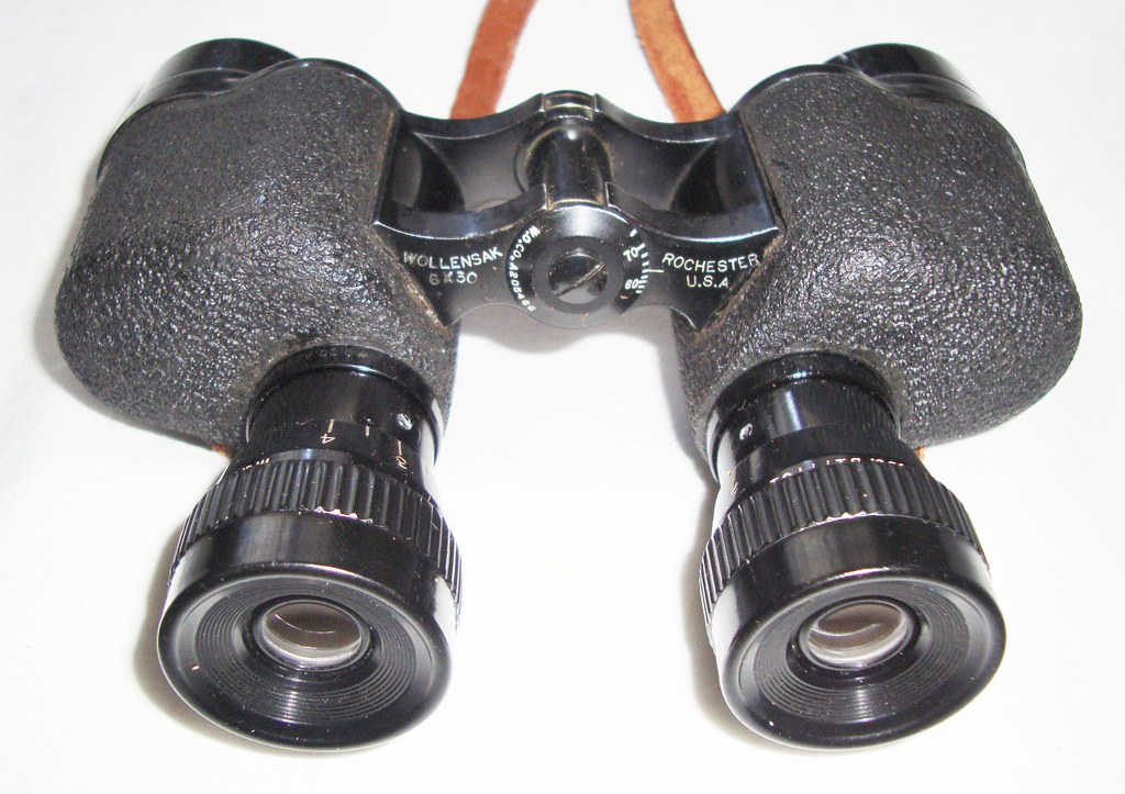 Wollensak Optical Company U S Army Binocular M5 6x30 Vi
