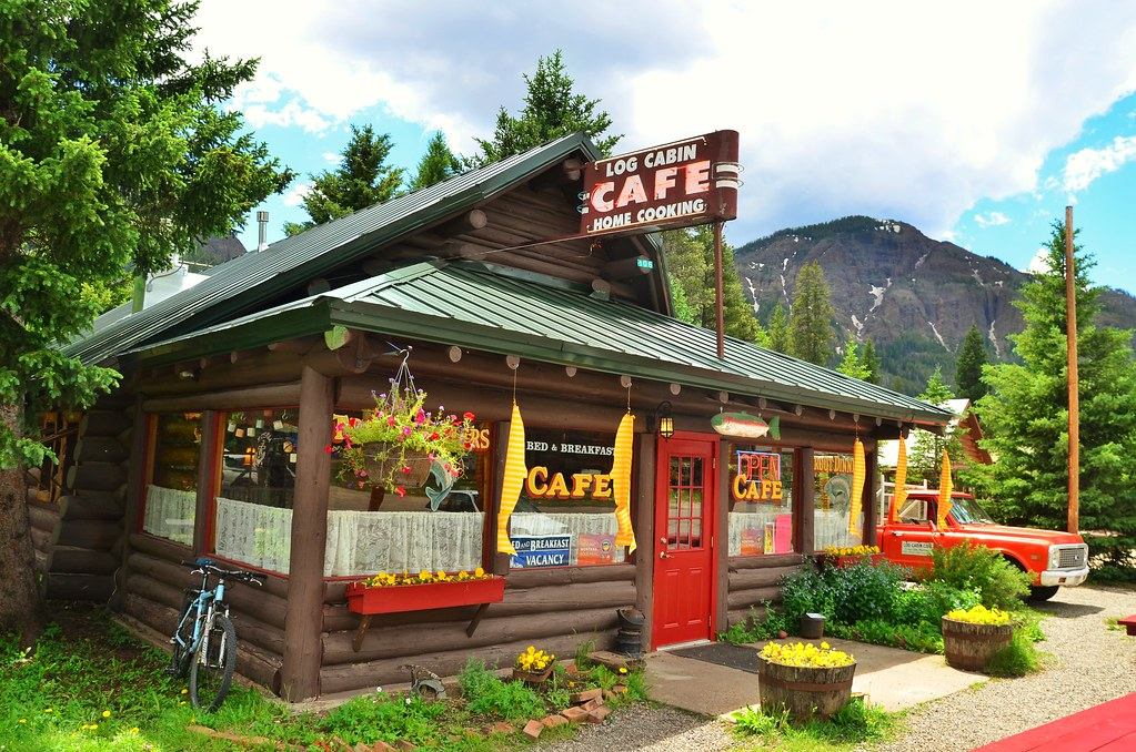 Log Cabin Cafe Home Cooking Silver Gate Montana D