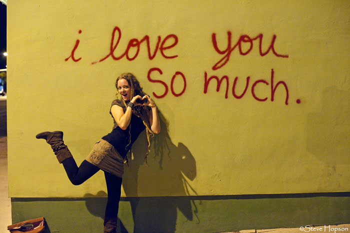 I Love You So Much, Graffiti On The