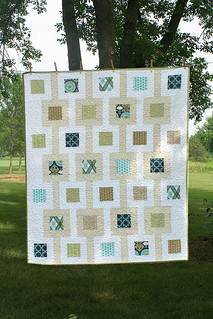 Modern Meadow quilt | by freshlypieced
