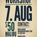 WORKSHOP!!!