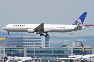 United Airlines Boeing 767-400; N69059@FRA;16.07.2011/609dy | by Aero Icarus