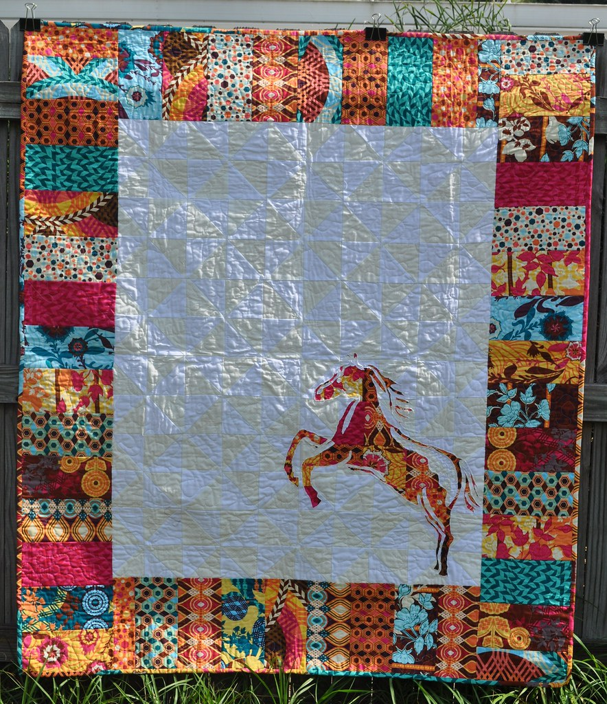 cotton and magic on patch boom quilt throw s horse bath bed quilts shop sales