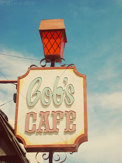 bob's cafe sign | by doe-c-doe